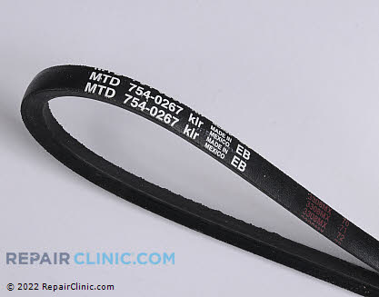 Belt: V-Belt 954-0267 Main Product View