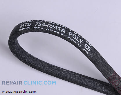 Belt: V-Belt 954-0241A Main Product View