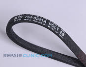 Belt: V-Belt - Part # 1606446 Mfg Part # 954-0241A