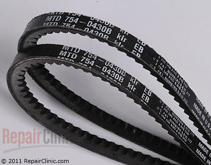 Belt: V-Belt (Genuine OEM)  954-0430B