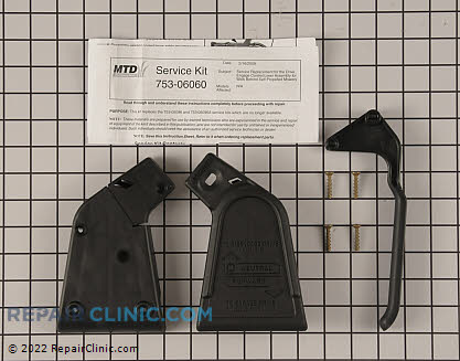 Handle (Genuine OEM)  753-06060A