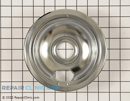 6 Inch Burner Drip Bowl 1841N029        Main Product View