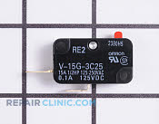 Micro Switch - Part # 1550736 Mfg Part # J61415G10XN