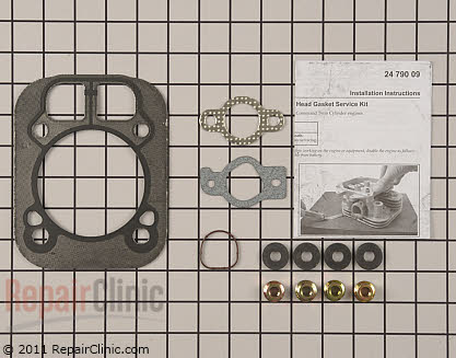 Cylinder Head Gasket Kit, Kohler Engines Genuine OEM  24 841 04-S - $22.85