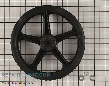 Wheel Assembly, Briggs & Stratton Genuine OEM  203650GS