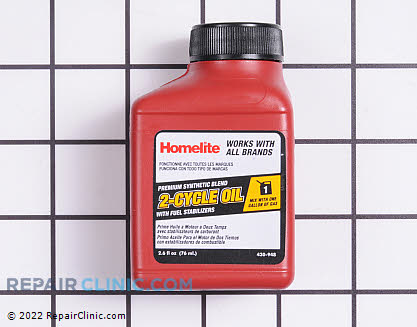 Homelite Premium 2-Cycle Oil W/Fuel Stab (Genuine OEM)  AC99G01, 1956685