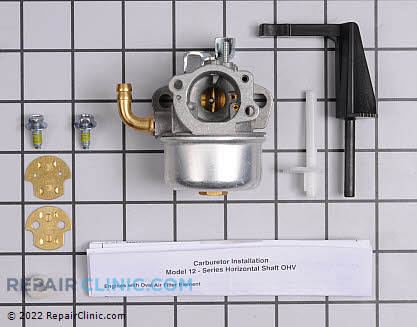Carburetor, Briggs & Stratton Genuine OEM  798653 - $48.30