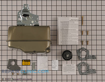 Gas Tank, Briggs & Stratton Genuine OEM  698054