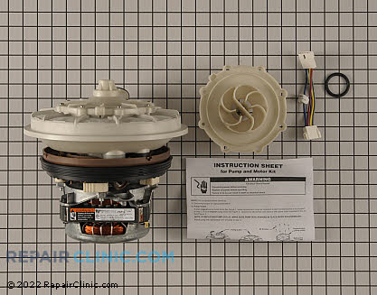 Pump and Motor Assembly W10428167 Main Product View
