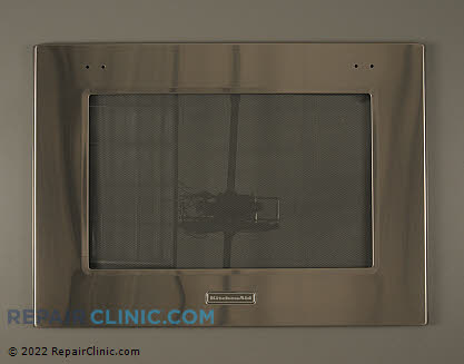 Oven Door Glass (OEM)  W10401227, 1938570
