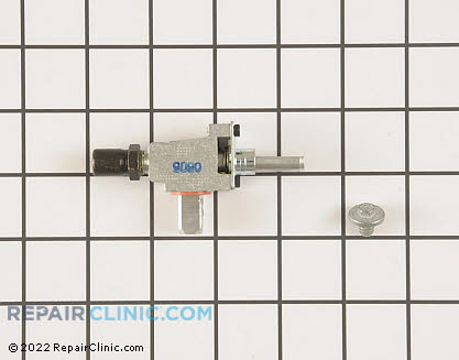 Brown Stove Surface Burner Valve