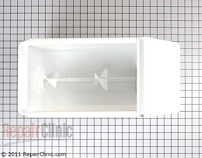 Whirlpool Refrigerator Ice Bucket Assembly