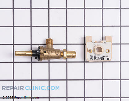 Surface Burner Valve (OEM)  12400036