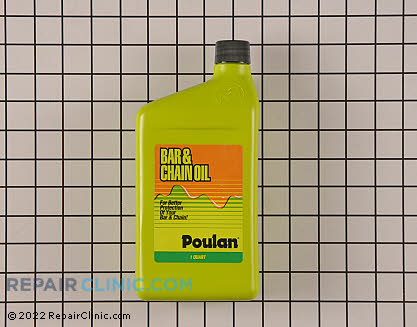 Poulan Bar &amp; Chain Oil 952030129 Main Product View