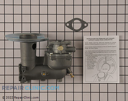 Carburetor 392587          Main Product View