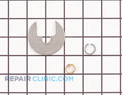 Nut - Part # 1093834 Mfg Part # WS02X10031