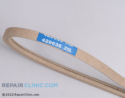 Belt: V-Belt (Genuine OEM)  429636, 1796834