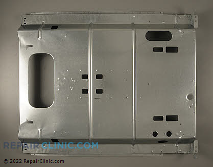 GE Range Rear Panel