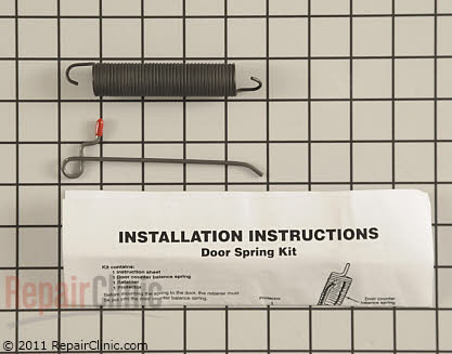 Roper Dishwasher Door Spring
