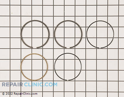 Piston Ring Set, Kawasaki Genuine OEM  13008-7001