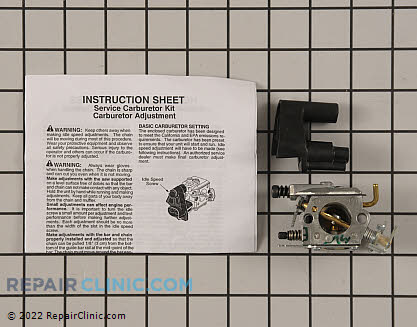 Carburetor (Genuine OEM)  545013503
