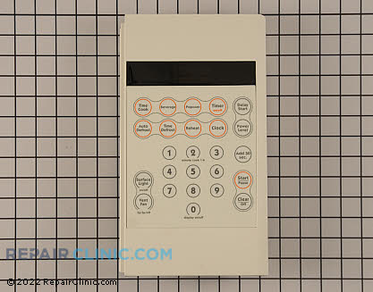 Touchpad and Control Panel (OEM)  WB07X10875