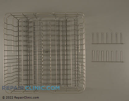 Upper Dishrack Assembly DW-0300-16 Main Product View