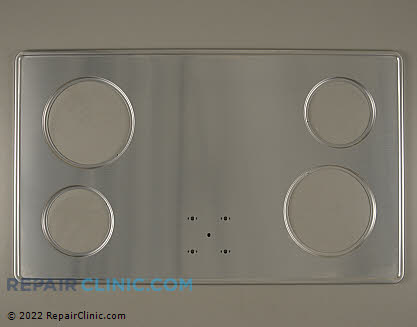 Tappan Metal Cooktop