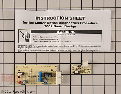 Ice Level Control Board 4389102 Main Product View