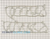 Tire Chain - Part # 1845197 Mfg Part # OEM-390-139