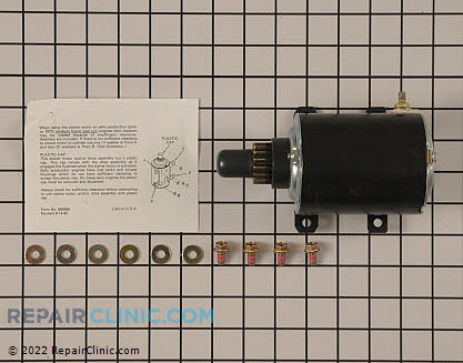 Electric Starter, Tecumseh Genuine OEM  35765A, 1728726