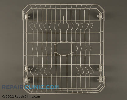 Lower Dishrack Assembly (OEM)  WD28X10284