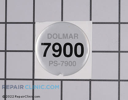 Decal, Dolmar Genuine OEM  980115672