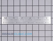 Label - Part # 1914453 Mfg Part # 8081052