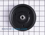 Flat Idler Pulley - Part # 1769393 Mfg Part # 07327800