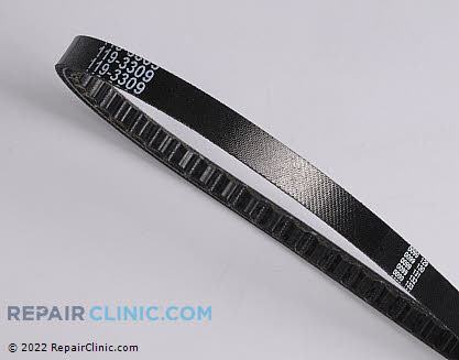 Belt: V-Belt, Toro Genuine OEM  119-3309
