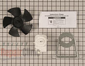 Condenser Fan Motor - Part # 1455822 Mfg Part # W10181323