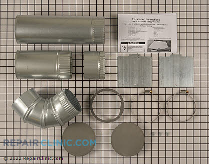 Exhaust Duct W10323246       Main Product View