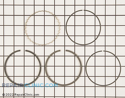 Piston Ring Set, Honda Power Equipment Genuine OEM  13010-ZF6-003