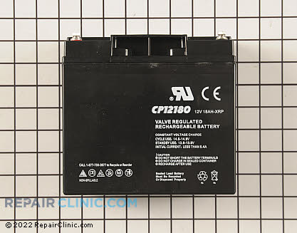 Battery, Briggs & Stratton Genuine OEM  193463GS
