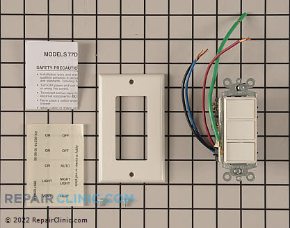 Admiral Refrigerator Relay and Overload Kit