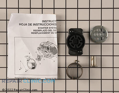 Rewind Pulley and Spring (Genuine OEM)  545180844