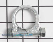 Muffler Clamp - Part # 1658858 Mfg Part # 92072-7012