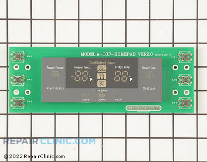 User Control and Display Board DA41-00204C Main Product View