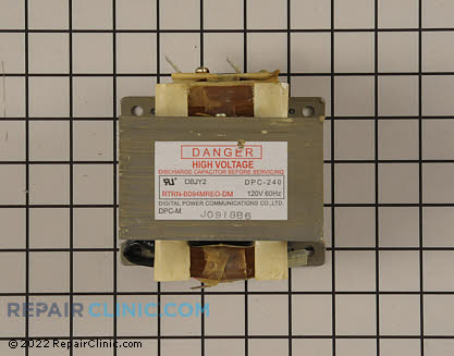 Kenmore Range High Voltage Transformer