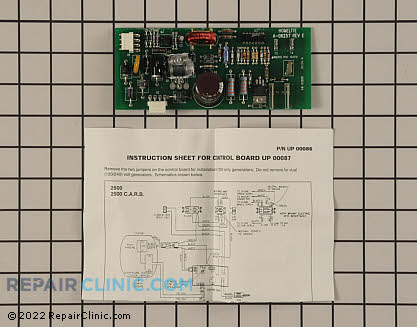Main Control Board (Genuine OEM)  UP00087