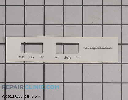 Frigidaire Name Plate