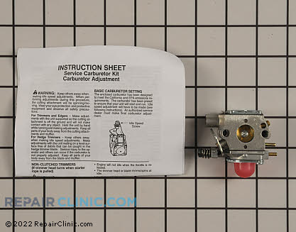 Craftsman Kit Carburetor Assembly