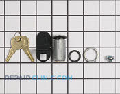 Door Lock - Part # 1054786 Mfg Part # 41734-S