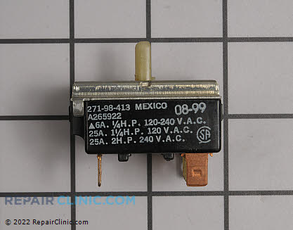 Frigidaire Air Conditioner Selector Switch